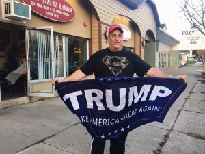 Trump supporter Tim McCavy [Photo © Arvin Joaquin]