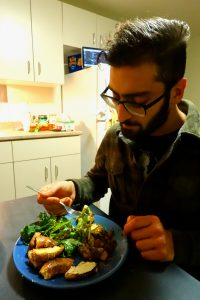 It's easy to eat well in Ottawa, if you know where to look, said Khan   Photo - Liam Harrap