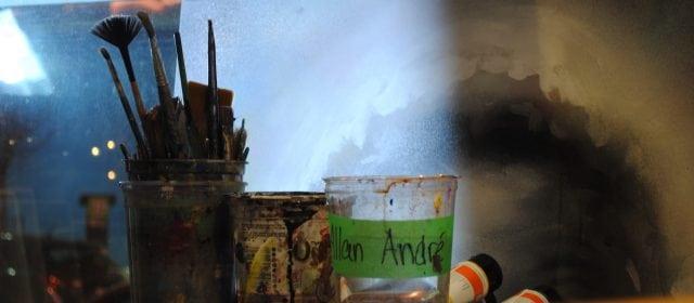 Allan André: The Live Canvas