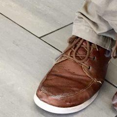 Snowy soles: winter footwear on campus