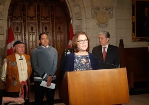 Indigenous representatives announce progress on plan to keep families together